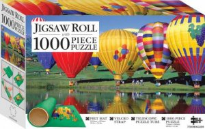 Mindbogglers Jigsaw Roll With 1000 Piece Puzzle: Balloon Festival, Colorado