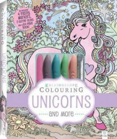 Kaleidoscope Colouring Kit: Unicorns And More