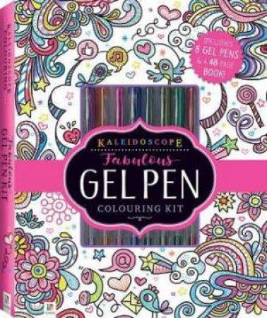 Kaleidescope Fabulous Gel Pen Colouring Kit