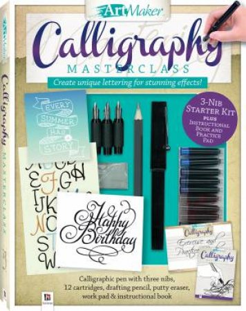 Art Maker Calligraphy Masterclass by Peter Taylor