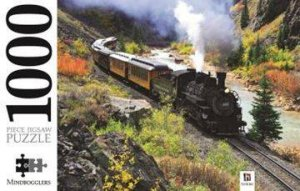 Mindbogglers 1000 Piece Jigsaw: Durango & Silverton Railroad, Colorado by Various