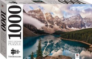 Mindbogglers 1000 Piece Jigsaw: Moraine Lake, Alberta, Canada