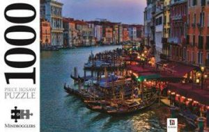 Mindbogglers 1000 Piece Jigsaw: Gondolas And The Grand Canal, Venice, Italy