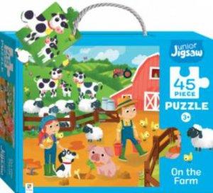 Junior Jigsaw: On The Farm - 45 Piece Puzzle