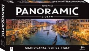 Panoramic 1000 Piece Jigsaw: Grand Canal Italy