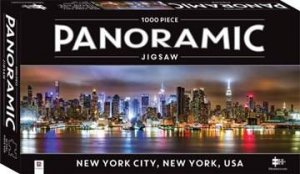 1000 Piece Panoramic Jigsaw: New York by Various