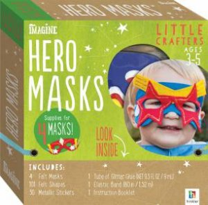 Little Crafters: Hero Masks