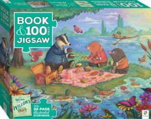 100 Piece Jigsaw With Picture Book: Wind In The Willows