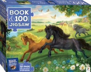 100 Piece Jigsaw With Picture Book: Black Beauty