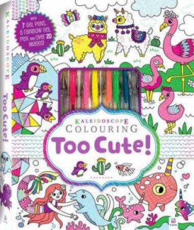 Kaleidoscope Colouring Kit: Too Cute