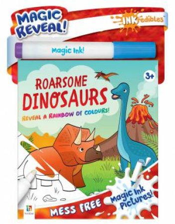 Inkredibles Magic Ink Pictures: Roarsome Dinosaurs by Various
