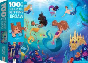 100 Piece Children's Jigsaw: Mermaids