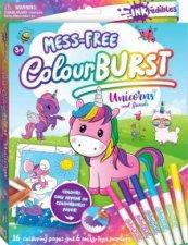 Inkredibles Colour Burst Colouring Unicorns And Friends