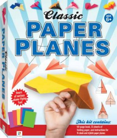Classic Paper Planes Box Set by Dean Mackey