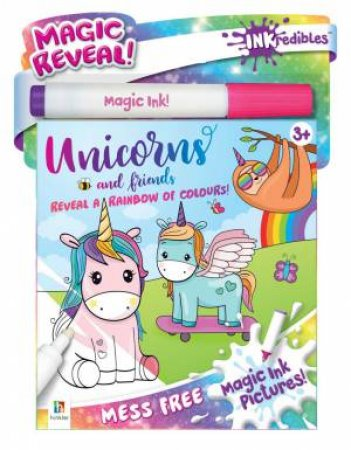 Inkredibles Magic Ink Pictures: Unicorns And Friends by Various