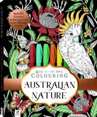 Kaleidoscope Colouring Kit: Australian Nature by Rachel Urquhart