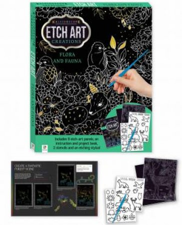 Etch Art Mini Kit: Flora And Fauna