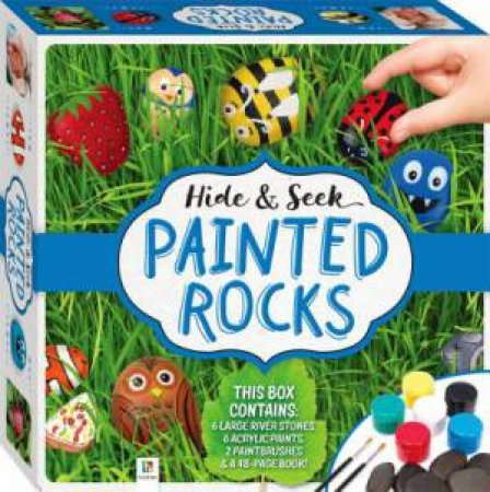 Hide And Seek Painted Rocks Kit (2019 Ed) by Various