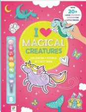 I Love Magical Creatures Colouring  Activity Book