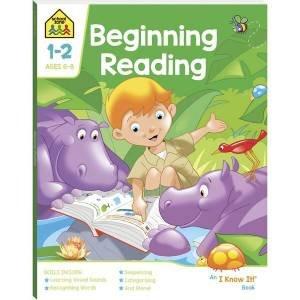 School Zone: I Know It Deluxe Workbook: Beginning Reading Book 2020