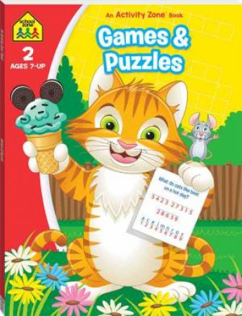 School Zone: I Know It Deluxe Workbook: Games And Puzzles Activity Book