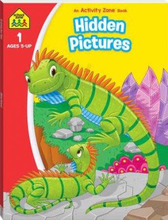 School Zone: I Know It Deluxe Workbook: Hidden Pictures Activity Book 2020