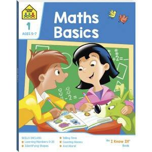 School Zone: I Know It Deluxe Workbook: Maths Basics 1 2020