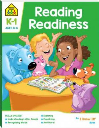 School Zone: I Know It Deluxe Workbook: Reading Readiness Ages 4-6 2020