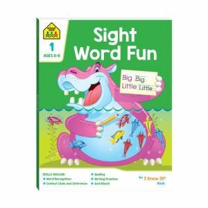 School Zone: I Know It Deluxe Workbook: Sight Word Fun Book 2020