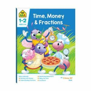School Zone: I Know It Deluxe Workbook: Money And Fractions 2020 by Various
