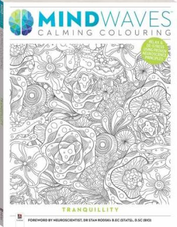 Mindwaves Calm Colouring: Tranquillity