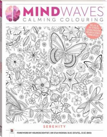 Mindwaves Calm Colouring: Serenity