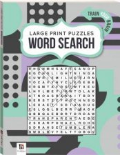 Large Print Puzzle Book Word Search 1