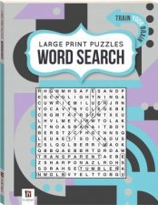 Large Print Puzzle Book Word Search 2