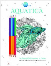 Zen Colour With Pencils Aquatica