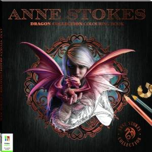 Anne Stokes Dragon Collection Colouring Book by Various