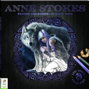 Anne Stokes Fantasy Collection Colouring Book