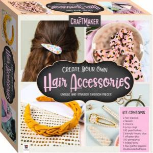 CraftMaker Create Your Own Hair Accessories Kit