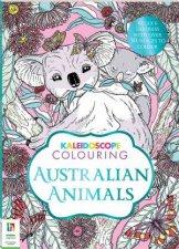 Kaleidoscope Colouring Australian Animals
