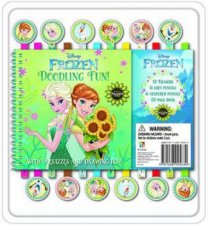 Disney Frozen Fever Fun 12 Pencil and Eraser Set by Various