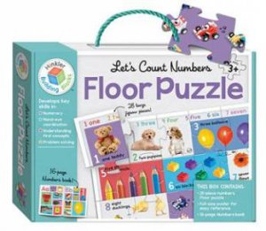 Let's Count Numbers Floor Puzzle