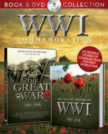 WWI (World War One) Book and DVD