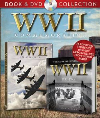 WWII (World War Two) Book and DVD