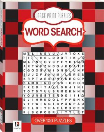 Prestige Puzzles Large Print: Word Search (Red) by Various
