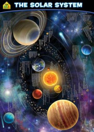 School Zone Wall Chart (Updated): The Solar System