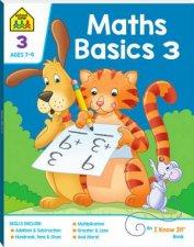 School Zone I Know It Deluxe Workbook Maths Basics 3 7