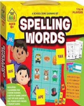School Zone: Learning Set: Spelling Words