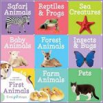 First Step Learning Library Tray: First Animals by Various