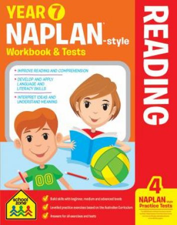 School Zone: Naplan-Style Workbook: Year 7 Reading