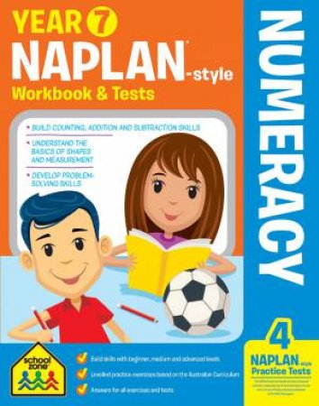 School Zone: Naplan-Style Workbook: Year 7 Numeracy